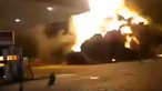 Violenta explosão em posto de combustível no Brasil faz um morto e 14 feridos