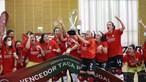 Equipa feminina do Benfica de hóquei em patins conquista Taça de Portugal