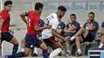 Benfica vence campeão francês Lille em jogo de preparação