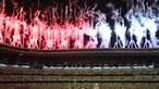 As melhores imagens da cerimónia de abertura dos Jogos Olímpicos