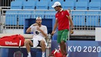 João Sousa e Pedro Sousa afastados na primeira ronda de pares nos Jogos Olímpicos de Tóquio
