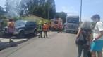 Incêndio destrói oficina de automóveis em Espinho