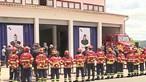 """Bombeira que morreu em Vinhais """"partiu nos braços dos irmãos"""": Dor no último adeus a operacionais"""