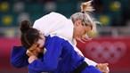"""""""Sinto-me muito triste"""": Telma Monteiro após ser eliminada nos Jogos Olímpicos"""