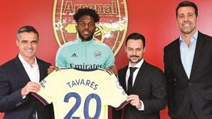 Nuno Tavares oficial no Arsenal