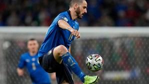 Bonucci torna-se o mais velho a marcar numa final de um Europeu