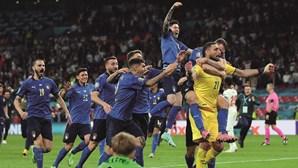Itália campione no Euro 2020 sucede a Portugal