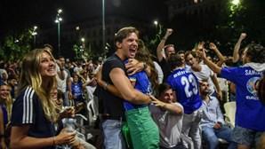 Vitória italiana no Euro 2020 estraga a festa aos adeptos ingleses