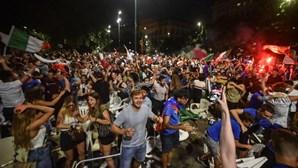 Polícia londrina deteve 45 pessoas durante a final do Euro 2020 em Wembley