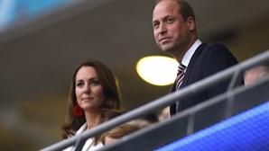 """Príncipe William """"doente"""" com insultos racistas a jogadores ingleses"""