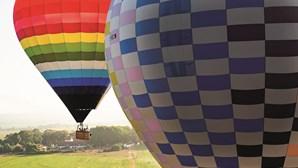 Voos de balão de ar quente dão a conhecer as paisagens da Beira Baixa