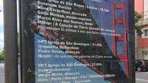 """Festival de música Estoril Lisboa troca imagem da ponte 25 de Abril pela """"Golden Gate"""" em cartaz do evento"""