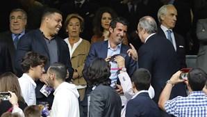 """Florentino Pérez apanhado a chamar """"anormal"""" a Guti e """"filho da p***"""" a Luís Figo em novos áudios"""