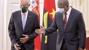 """Relações entre Portugal e Angola """"são muito boas"""", diz Presidente da República"""