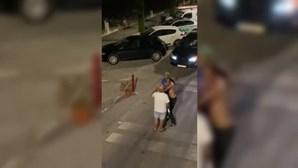 Violentos confrontos à porta de bar em Reguengos acabam com atropelamento