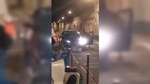 Violentos confrontos à porta de bar em Reguengos acabam em atropelamento