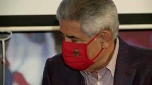 Ações de Vieira na Benfica SAD já valem mais do que caução a pagar no caso Cartão Vermelho