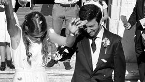 """Francisco Rodrigues dos Santos dá o nó: """"Foi o dia mais feliz da minha vida"""""""