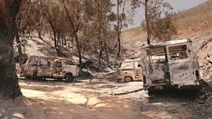 Autoridades investigam negligência no fogo em Monchique