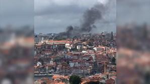 Incêndio deflagra no Palácio da Justiça no Porto