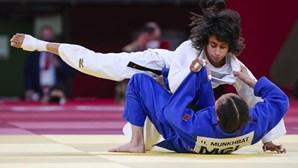 Judoca Catarina Costa fica à porta do pódio nos Jogos Olímpicos Tóquio 2020