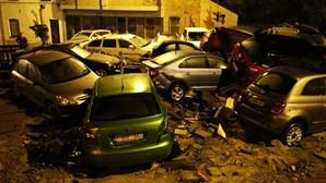 Violenta tempestade atinge várias cidades da Bélgica. Veja as imagens