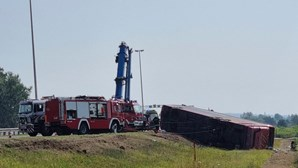 10 mortos e 45 feridos em despiste de autocarro na Croácia