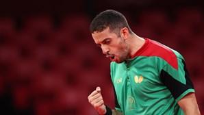 Português Marcos Freitas apurado para os oitavos de final no ténis de mesa