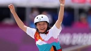 Skater de 13 anos torna-se a mais jovem a conquistar medalha de ouro nos Jogos Olímpicos