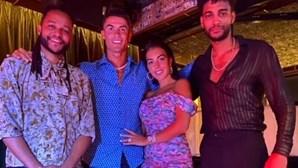 """Cristiano Ronaldo assiste a concerto dos Calema: """"Noite incrível"""""""