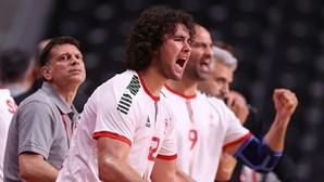 Portugal sofre mas conquista primeira vitória olímpica no andebol em Tóquio 2020