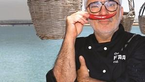 Emídio Freire: A tropa ajudou-o a decidir fazer da cozinha profissão