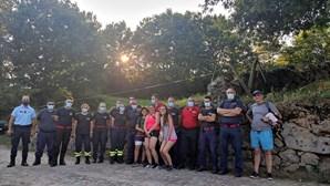Resgatadas as quatro pessoas perdidas junto ao rio Cávado no Parque Nacional da Peneda-Gerês