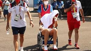Tenista Paula Badosa desiste do torneiro em Tóquio devido ao calor e Medvedev foi assistido