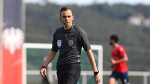 Já é conhecido o árbitro que vai apitar o jogo entre Sporting e Sp. Braga na Supertaça