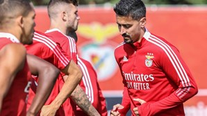 André Almeida já treina no Benfica e sonha com Moscovo