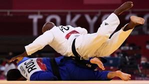 Judoca português Jorge Fonseca nas meias-finais de -100 kg
