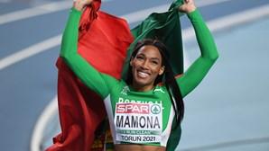 Patrícia Mamona apurada para a final do triplo salto
