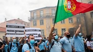 Polícias que usaram farda em manifestação vão ser alvo de processo disciplinar