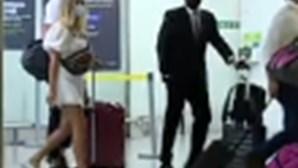 Yaremchuk chega ao Aeroporto de Lisboa para assinar pelo Benfica