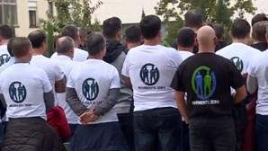 Castigo para polícias fardados em manifestação do Movimento Zero