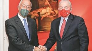 Marcelo quer Portugal e Brasil mais próximos