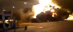 Explosão em posto de combustível em São Paulo