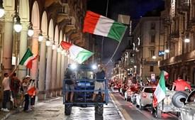 Itália conquistou a vitória do Euro 2020