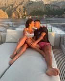 Cristiano Ronaldo e Georgina apaixonados