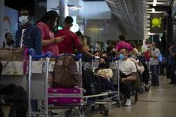 Greve da Groundforce causa longas filas no aeroporto do Lisboa