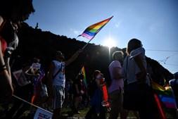 Mais de dez mil pessoas juntas na Marcha do Orgulho LGBTI+ na Hungria