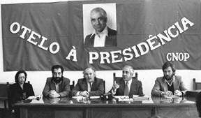 Em 1980 | Conferência de Imprensa do autodesigando 'candidato da esquerda revolucionária'