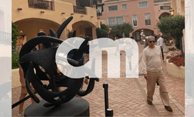 Ricardo Salgado fotografado de férias em Sardenha