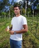 Gonçalo Madeira, aluno da Academia do CFC de 2020 e vencedor de uma bolsa